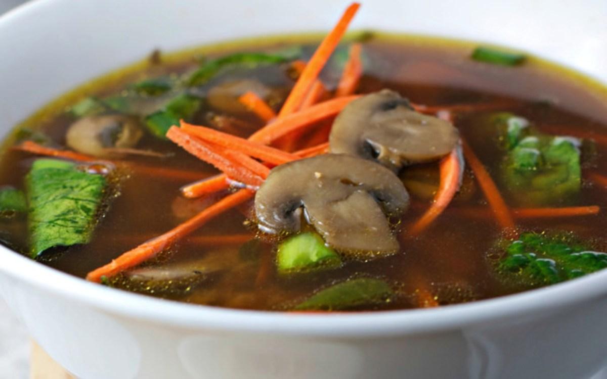 Vegan Immunity Boosting Miso Soup