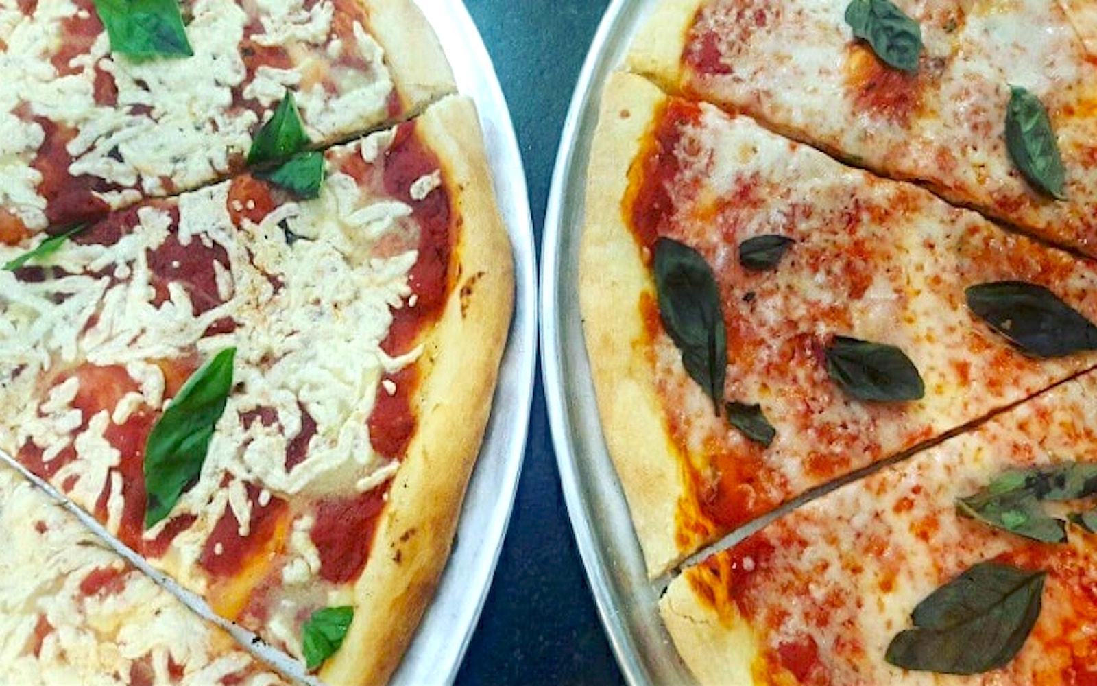 go vindas vegetarian vegan pizza