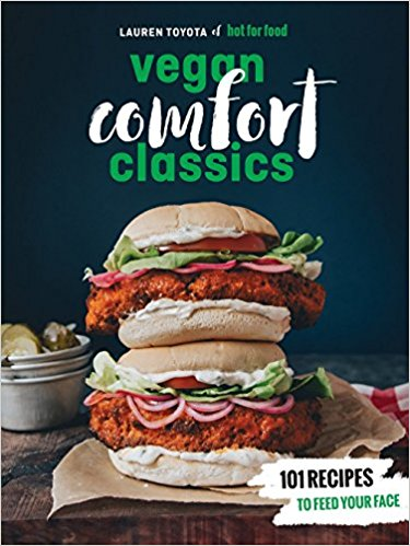 Hot for Food Vegan Comfort cookbook