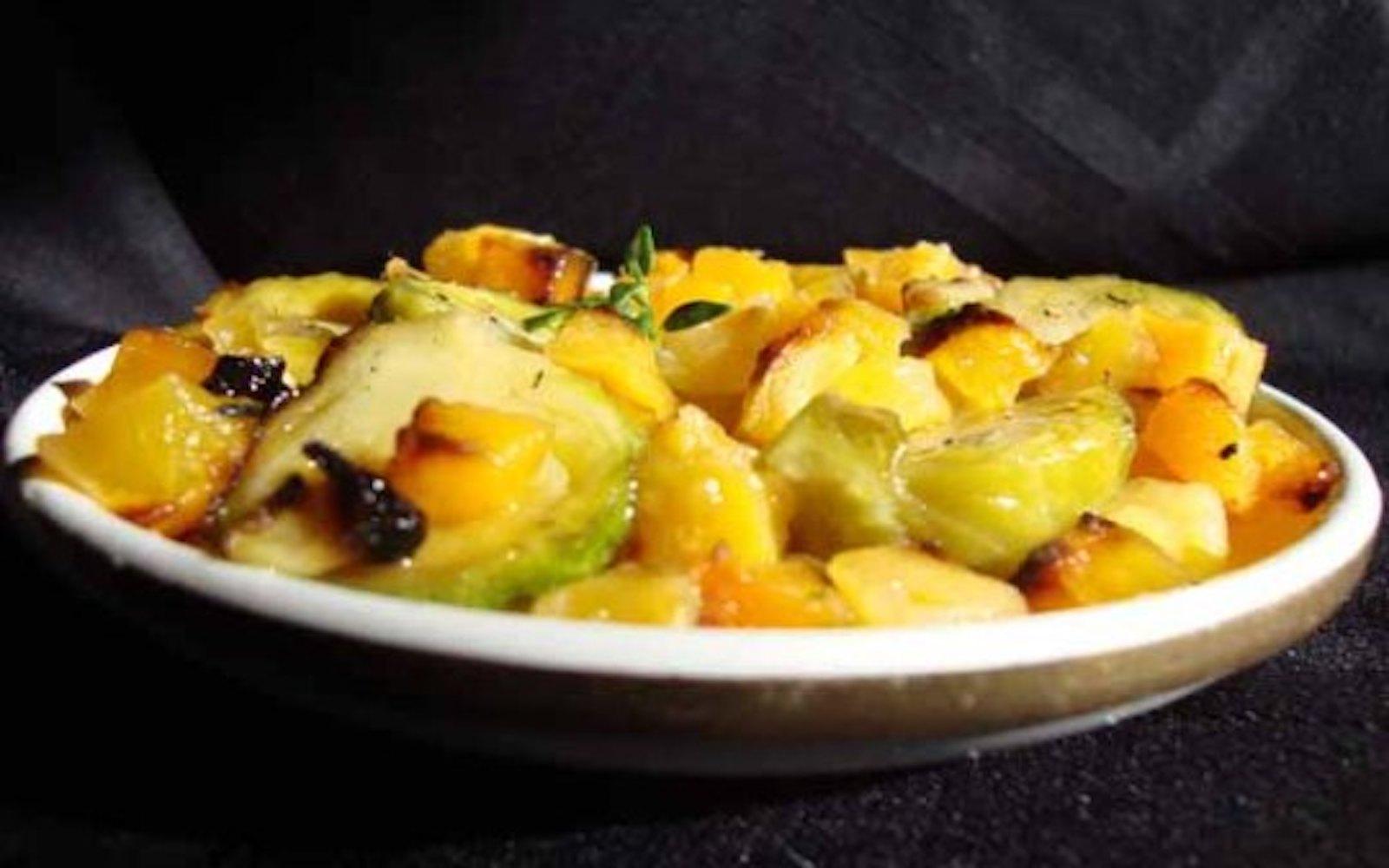 roasted vegetables squash