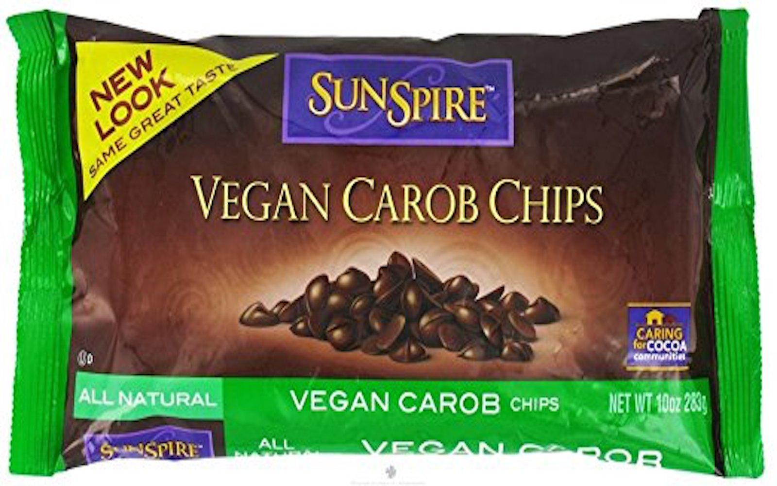 vegan carob baking
