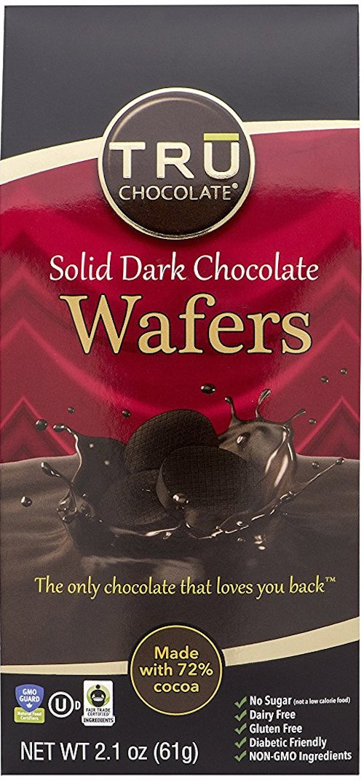 tru chocolate wafers