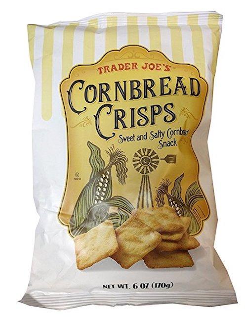 trader joes vegan cornbread crisps