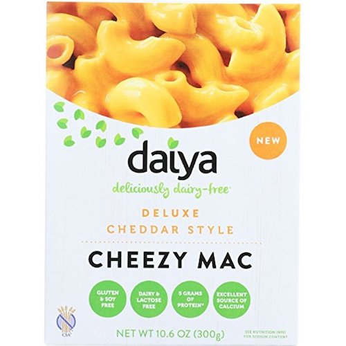 daiya cheddar cheezy vegan mac
