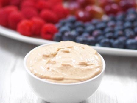 Healthy Peanut Butter Dip
