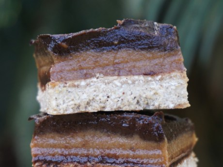 Salted Caramel Chocolate Slices