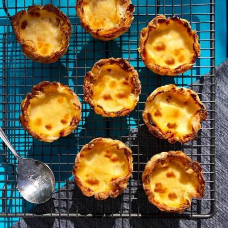 One Handed Baker, custard tarts, egg tarts,