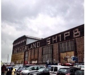 Hotspot Amsterdam: fleemarket IJ-hallen NDSM Werf