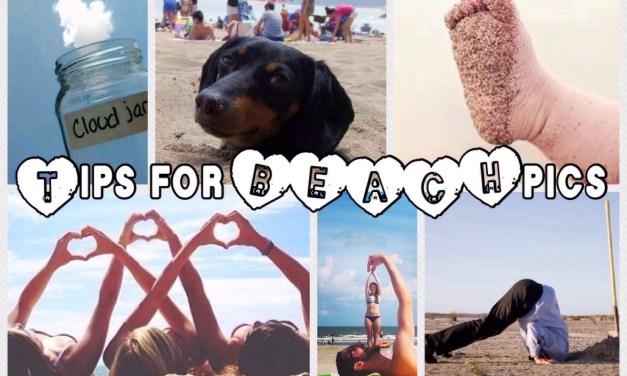 5 ideetjes voor coole strandfoto's