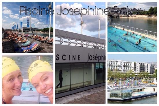 Zwembad Josephine Baker Parijs