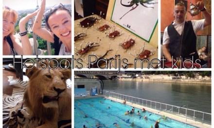 3 hotspots Parijs met kids