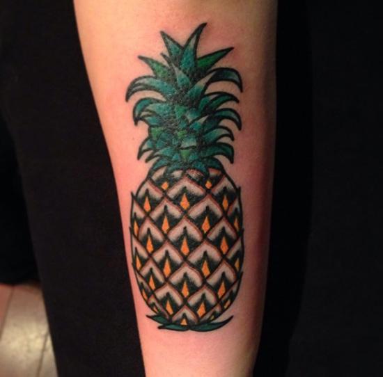 ananas tattoo
