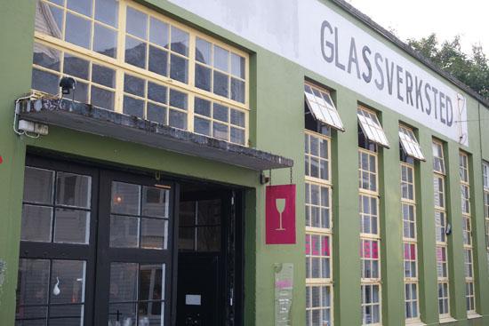 glaskunst werkplaats Alesund