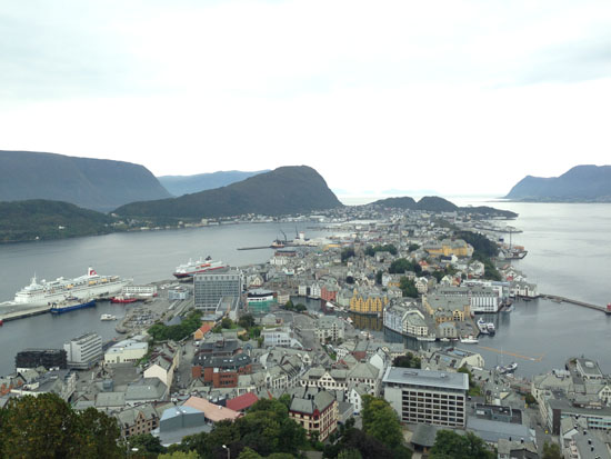Alesund in Noorwegen