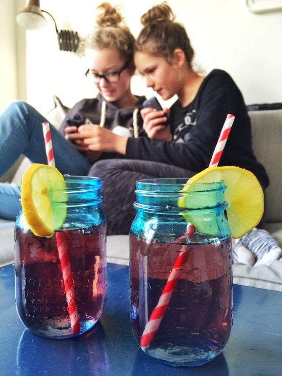 Mason Jar limonade