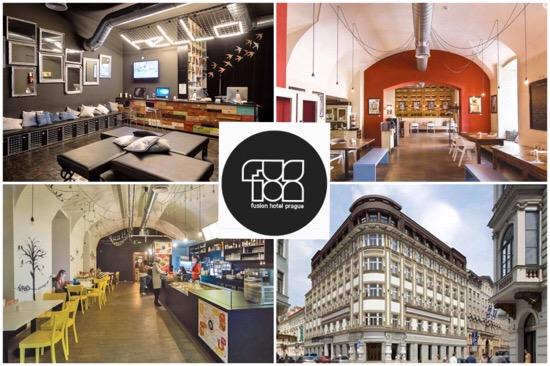 Hotspot Praag: Fusion Hotel