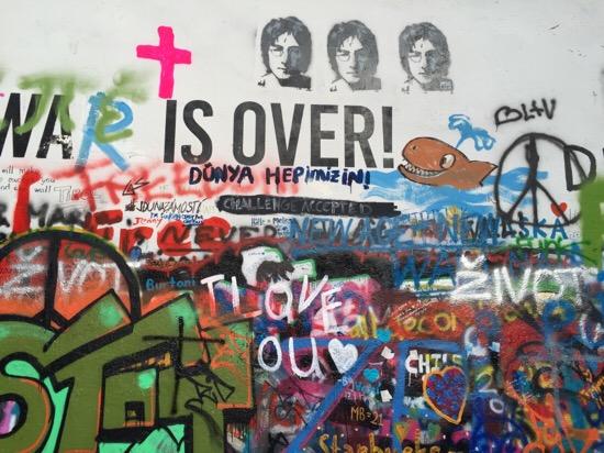 John Lennon tribute Praag