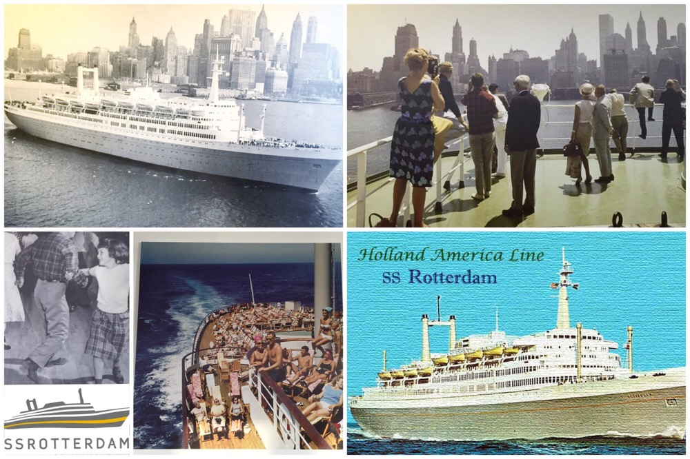 oude foto's ss Rotterdam