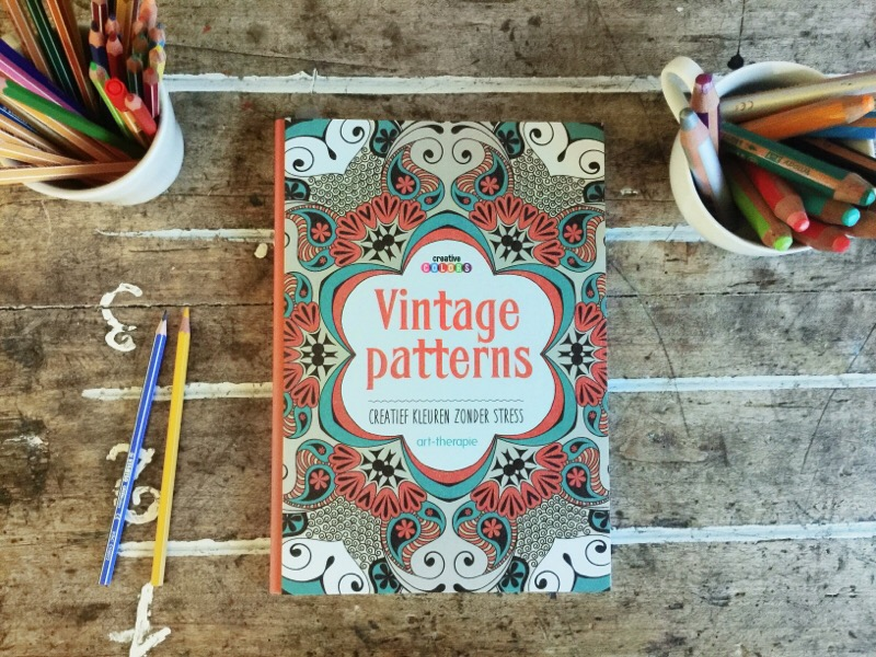 kleurboek vintage patterns
