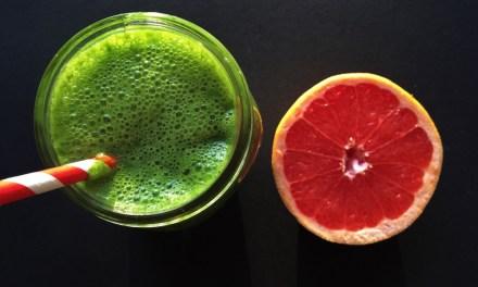 Beat de griep! Met deze smoothie met grapefruit