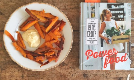 Zoete aardappel friet à la Rens Kroes (+ gezondheidsweetjes)