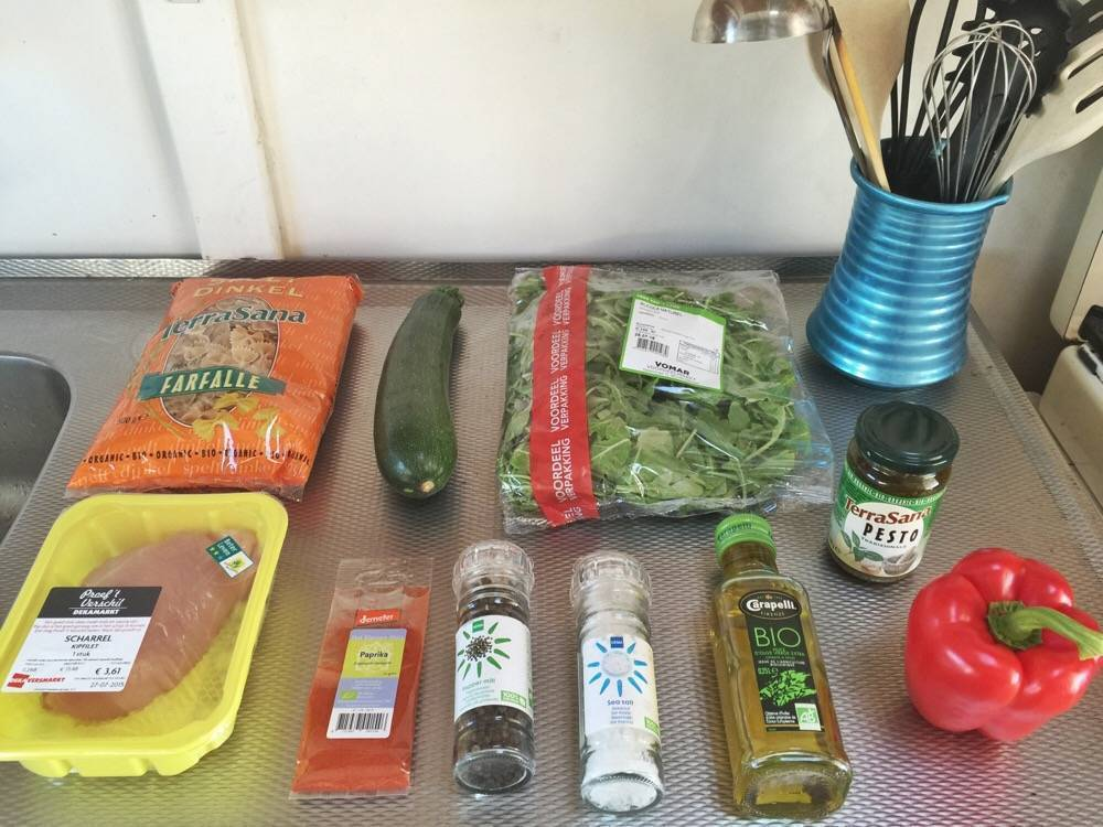 ingredienten pastasalade