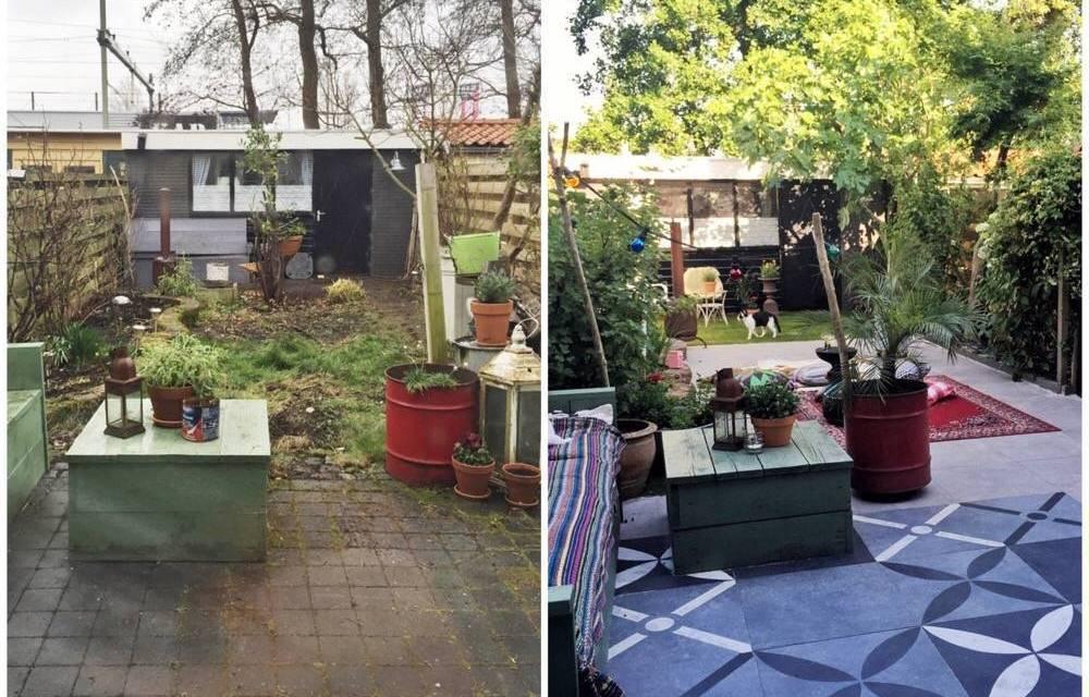 Dit is onze giga tuin metamorfose