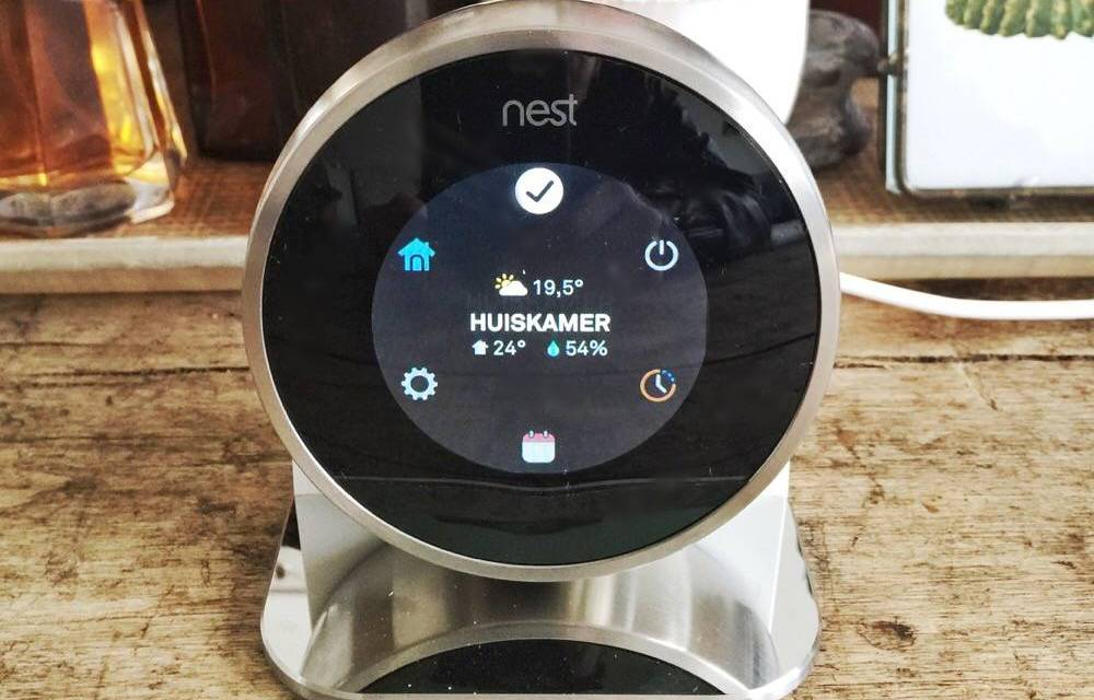 "Gadget-review: de Nest ""zelflerende"" thermostaat"
