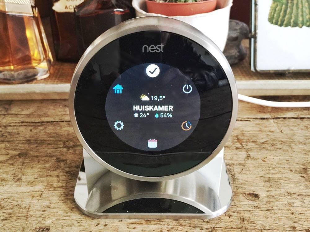 de Nest thermostaat
