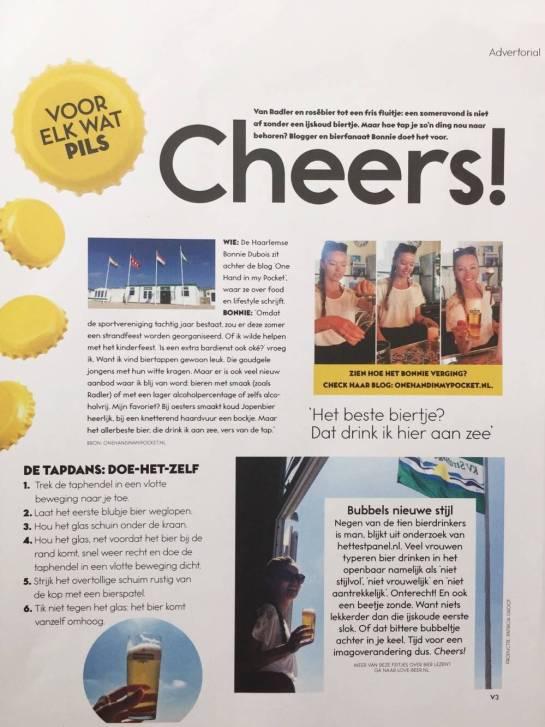LoveBeer in Viva magazine