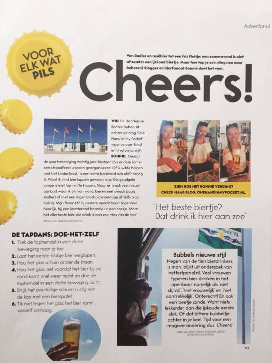 LoveBeer in Viva magazine