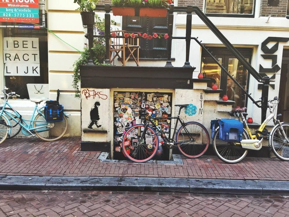stencil art Amsterdam