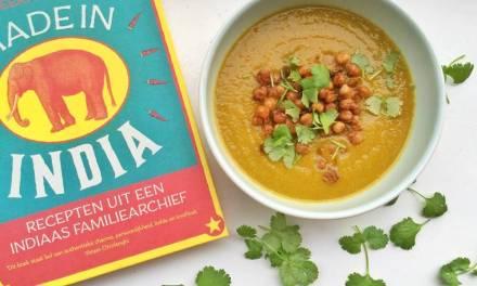 Makkelijk groentesoep recept met geroosterde kikkererwten