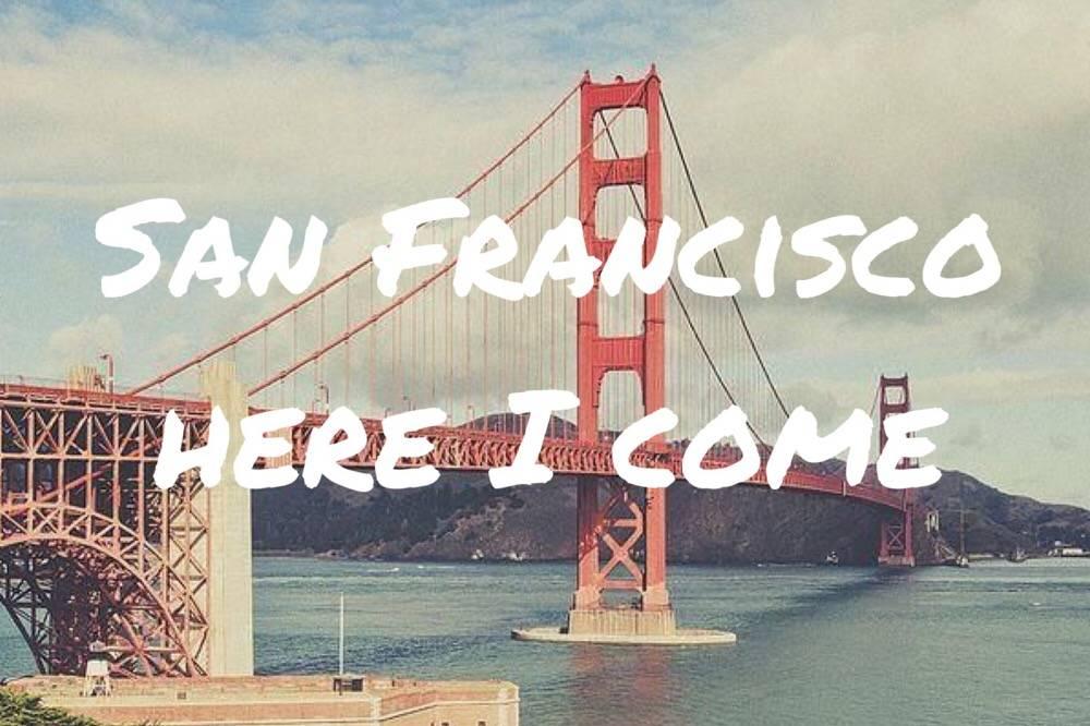 San Francisco here I come - OHimP