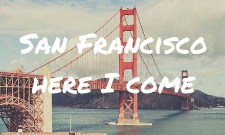 Solovakantie: San Francisco here I come!!