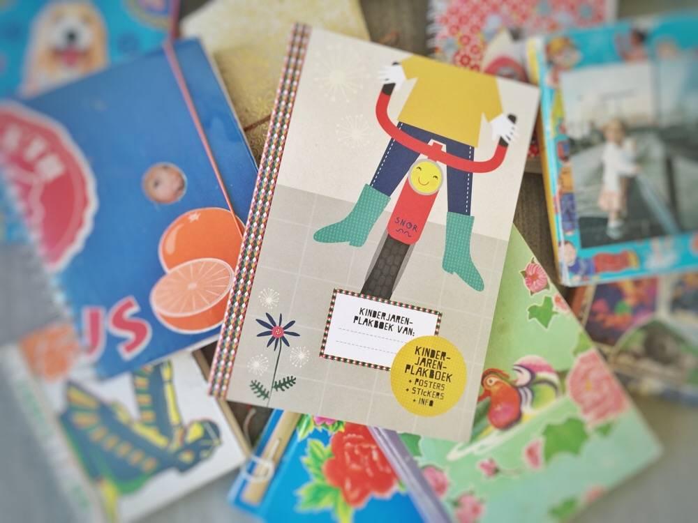 Kinderjarenplakboek Uitgeverij Snor