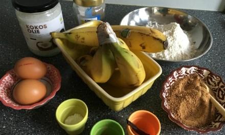 Recept: Bananenbrood zonder schuldgevoel