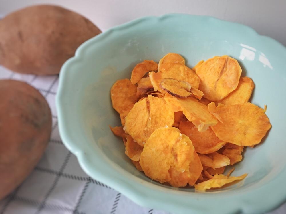recept zoete aardappel chips - OHIMP