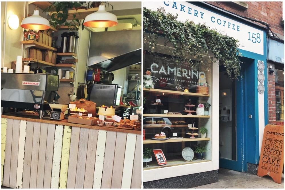 hotspots in Dublin - Camerina