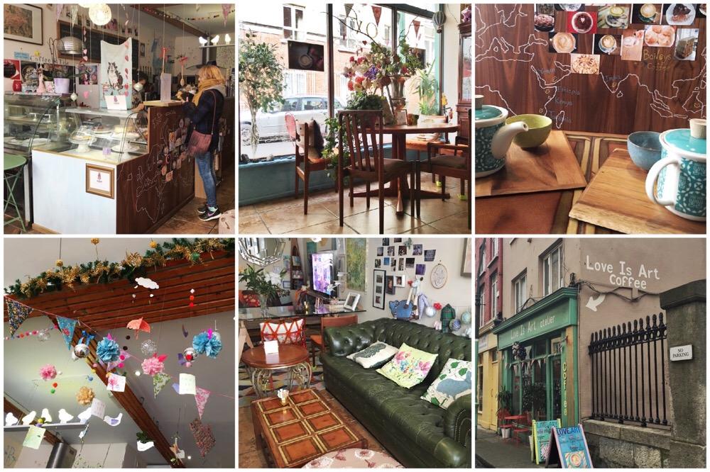 hotspots in Dublin - Love is Art Coffee