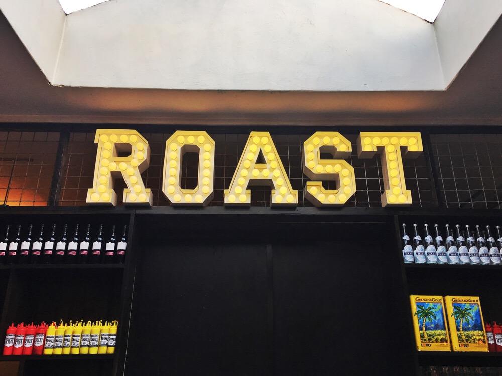 Roast Chicken Bar sign