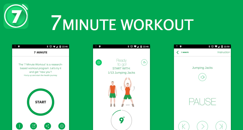 7 min workout - health apps