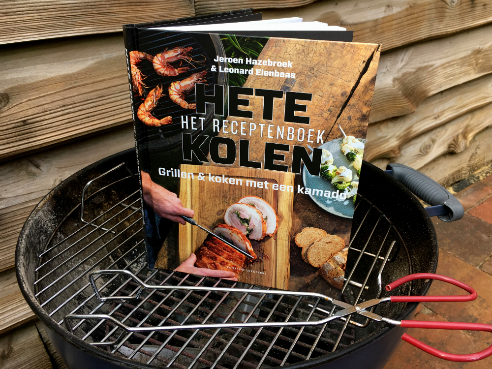 Hete Kolen receptenboek barbecue