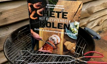 """Review: """"Hete Kolen"""" bbq-boek"""