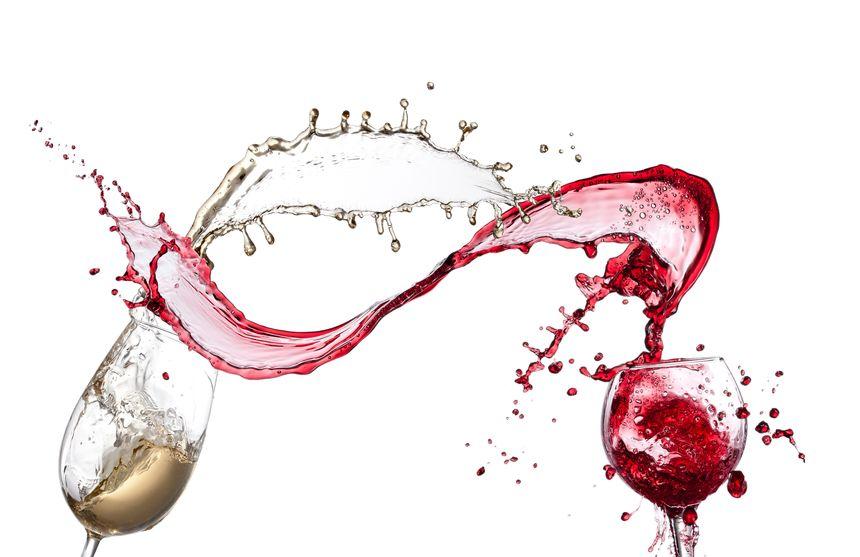 rode wijn vlekken