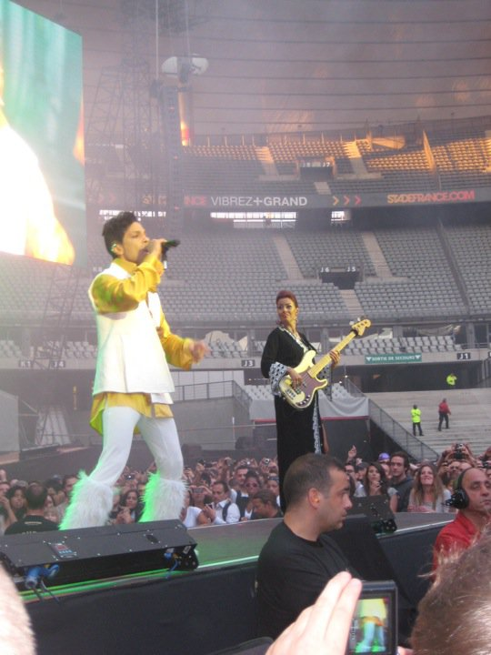 prince concert Parijs