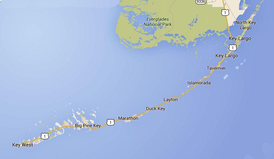 The Florida Keys roadtrip
