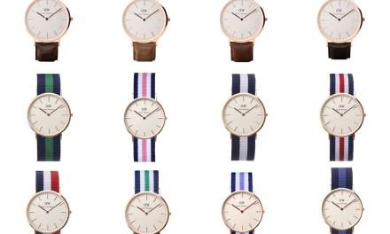 Zo mooi, een Daniel Wellington horloge