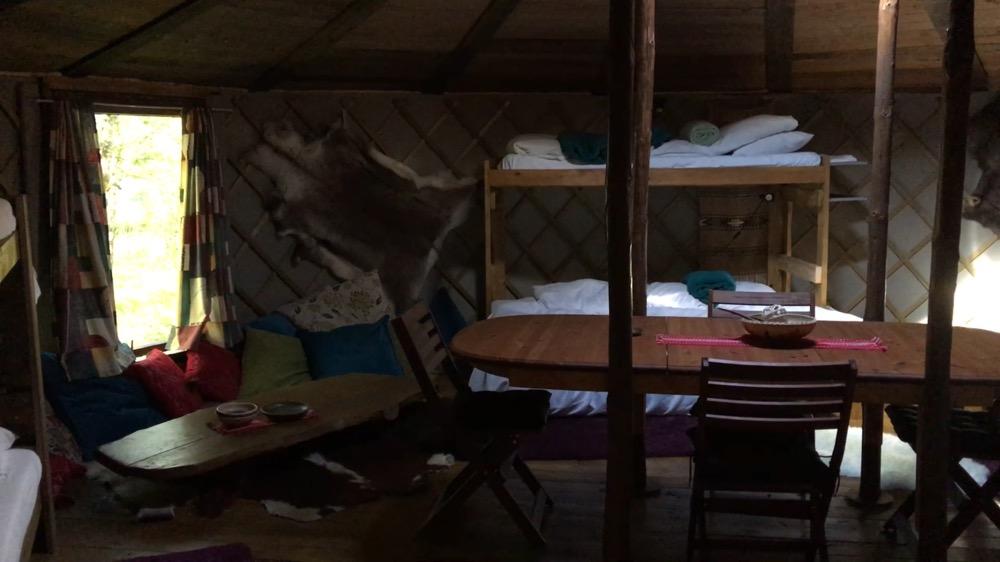 Yurt in Osa