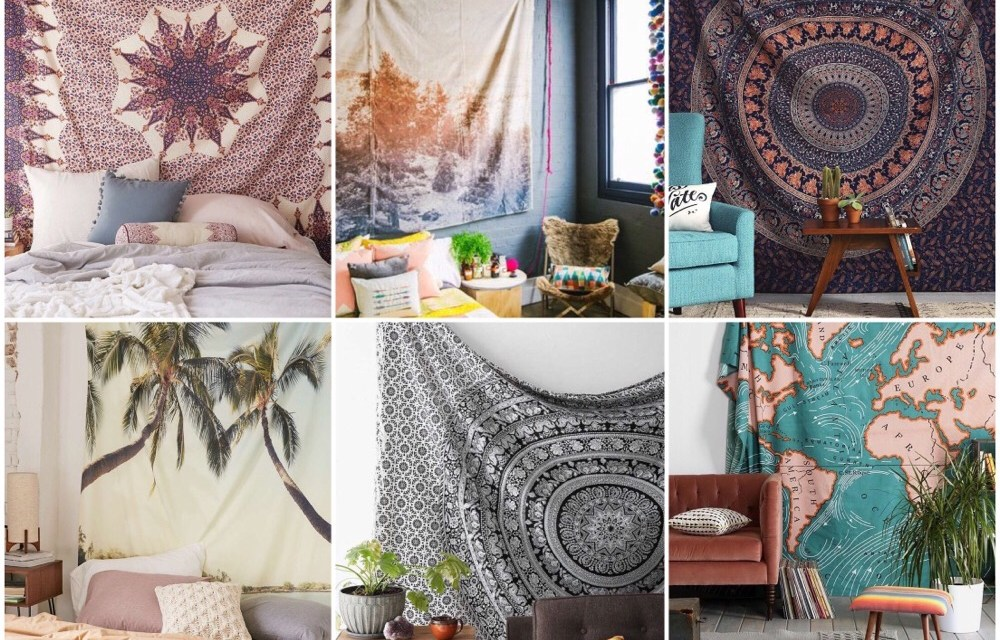 Wall tapestry interieurtrend (14x inspiratie)